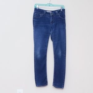 PARIS BLUES Size 7 JEANS DISTRESSED Slim